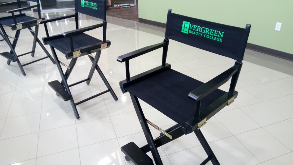 Silk Screened Director Chairs