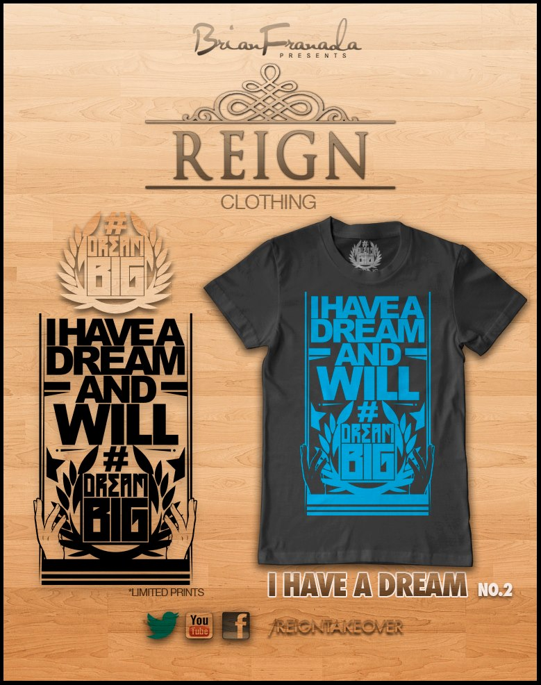 Reign Clothing Silk Screened Shirts